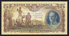 Angola 5 Angolares 1947 P-77 GENERAL CARMONA