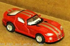 RED DODGE VIPER GTSR 1/72 SCALE DIE CAST NICE & NEW