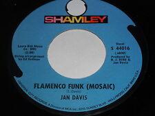 Jan Davis: Flamenco Funk (Mosaic) / Hornets Nest 45