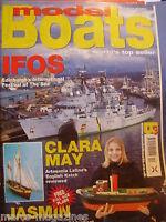 MODEL BOATS OCTOBER 2003 JASMIN PLANS CLARA MAY INTERNATIONAL FESTIVAL OF SEA