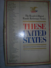 These United States By The Reader's Digest Family Reference Series - 1968