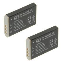 Batería 2x para Traveler slimline x4 x5 x6 xs7 x60 dc-5080