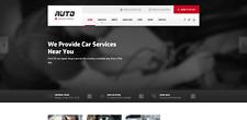 AUTO pienamente reattivo sito Web di riparazione del veicolo