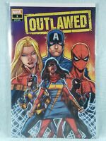 OUTLAWED #1 Walmart Exclusive Variant  Champions Marvel Comics 2020 NM