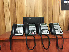 NEC SL1100 Telephone System with 4 Handsets for PSTN services