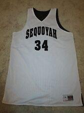 Sequoyah High School Basketball Team Game Worn Used Jersey Mens Xl