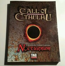 Call of Cthulhu Nocturnum Role Playing Game D20 System softcover Lovecraft New A