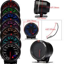 7-Colors Universal Car Truck LED Digital Oil Temperature Gauge Meter Kit+Sensor