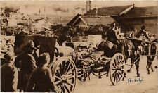 CPA  Militaire - Soldiers Carrying Artillery with Horse Wagons  (695942)
