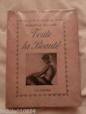 Toute la Beauté ( soins du corps de la femme ) Marcelle Auclair - 1937
