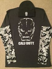 CALL OF DUTY Black OPS 4 VIDEO game XBOX ONE New MEN'S Long Sleeve t-SHIRT Hat