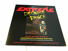 "EXTREME Decadence Dance 12"" VINYL UK A&M 1991 4 Track Gatefold Tour Pack"