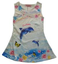 116 Mädchenkleider im Tunika-Stil mit Blumenmädchen Größe