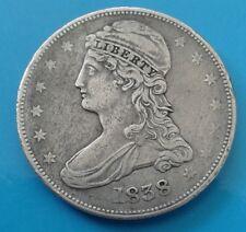 More details for 1838 usa half dollar