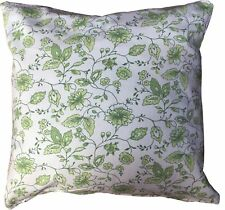 """Cushion Cover Floral Pattern Zip Up Home Living Room Decor 18"""" x18"""" (45x45cm)"""
