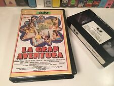 * La Gran Aventura Argentinian Crime Action Comedy VHS '74 Mexi Juan Jose Camero