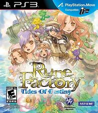 Rune Factory: Tides of Destiny [PlayStation 3 PS3, Natsume RPG, Harvest Moon]