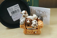 CONFINED CLAWS  HARMONY KINGDOM LIMITED CATS KITTENS BOX FIGURINE  MIB