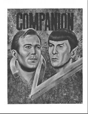 "Star Trek TOS Fanzine ""Companion 2"" K/S (SLASH) Vintage anthology"