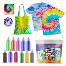 *ULTIMATE* Tie Dye Kit UK - Comes with 2 T-shirts Ideal Kids Professional Set