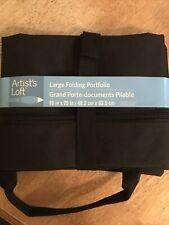 Artist's Loft Large Black Folding Portfolio 19 in × 25 in