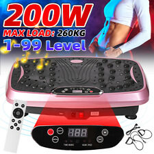 Vibration Machine Machines Platform Plate Vibrator Exercise Fit Gym Home 220V