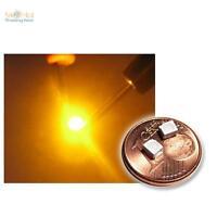 10 SMD LEDs Gelb PLCC-2 3528, gelbe SMDs yellow giallo geel jaune gul amarillo