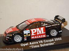 Opel Astra V8 Coupe 2002 Timo Scheider van Schuco 1:43 in Box *20520