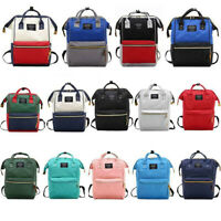 Large Capacity Waterproof Baby Diaper Bag Mummy Maternity Travel Stroll Backpack