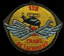 US Army 138th Trans Det Hel Vietnam Patch A-2