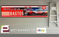 ROVER SD1 V8-S BASTOS Touring Car Banner for Workshop, Garage, 2000mm x 500mm