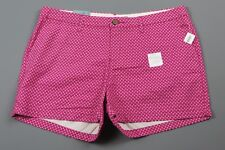 """NWT- OLD NAVY """"Pink Euphoria"""" Pink Floral 3.5"""" shorts Size 12"""
