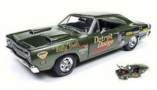 Dodge Super Bee 1969 (Wally Booth) Dark Green 1:18 Model AW234 AUTO WORLD