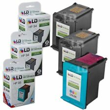 LD Remanufactured Replacements for HP 94 & 95 Ink Cartridges: 2 Black & 1 Color