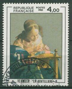 Frankreich 1982 Kunst Gemälde Jan Vermeer 2350 gestempelt