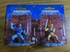 """Masters Of The Universe He-Man & Skeletor Micro Collection 2"""" Figures Caketopper"""