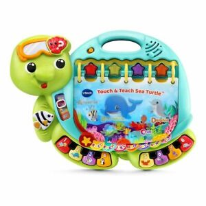 Vtech Touch and Teach Sea Turtle Book VTech Toys Free Shipping R1