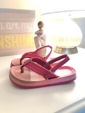 Reef Sandals Baby Girl Size 7/8 Sling Back Outdoor Sandals Pink