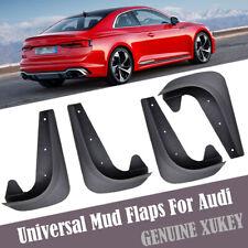 Set Universal Mud Flaps For Audi A2 A3 A4 A5 A6 Splash Guards Mudguards Mudflaps
