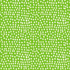 GRASS - GREEN - FQ - FLURRY DOT DASH BY DASHWOOD 100% COTTON FAT QUARTER