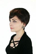 Gewellte Echthaar-Perücken & -Haarteile Kunst mehrfarbige