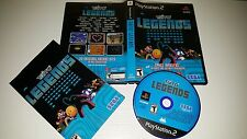 Taito Legends (28 Games) Space Invaders PlayStation 2 PS2 Complete FREE SHIPPING