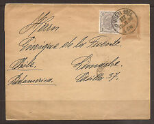 AUSTRIA / CHILE. 1898. UPRATED WRAPPER TO LIMACHE. VALPARAISO TRANSIT AND LIMACH