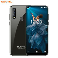OUKITEL C17 Pro Smartphone 4GB RAM + 64GB 4G Handy Unlocked Schwarz Android 9.0