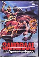Dvd **SANGRAAL ~ LA SPADA DI FUOCO** nuovo sigillato 1982