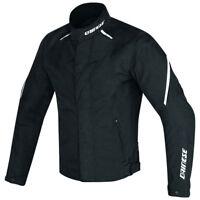 Dainese | Laguna Seca D1 D-Dry Giacca Sportiva Impermeabile Moto Nero Bianco