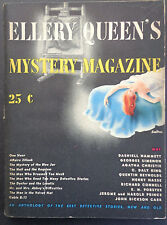 Ellery Queen's Mystery Magazine May '44, Vol. 5, No. 16, INV 2154