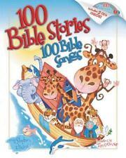 100 Bible Stories 100 Bible Songs by Stephen Elkins (2005, Hardcover)