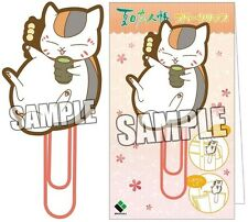 Natsume's Book of Friends Yuujinchou Rubber Clip Nyanko Sensei Odango Dango NEW