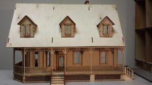 Alisha Country 1:24 Scale Dollhouse Kit